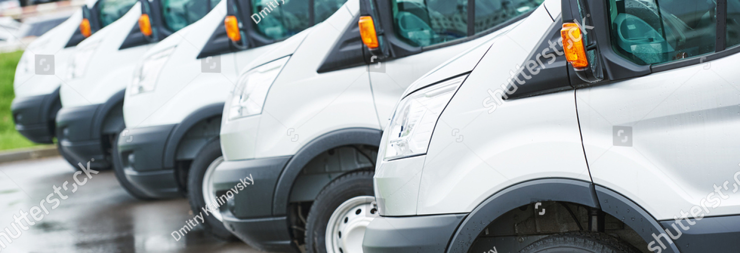 stock-photo-transporting-service-company-commercial-delivery-vans-in-row-414369562